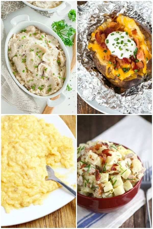 It's the season for family dinners and lots and lots of food! Thank goodness for these 20 Crock Pot Potato Recipes Perfect for the Holidays to save the day!