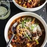Crock Pot Pumpkin Chicken Chili
