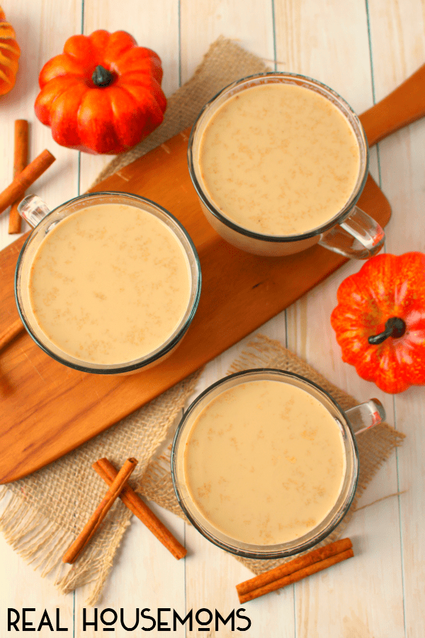 Did you know you can make a slow version of PSLs? This CROCK POT PUMPKIN SPICE LATTE is a delicious drink that's perfect for parties, brunches and coffee dates with friends!