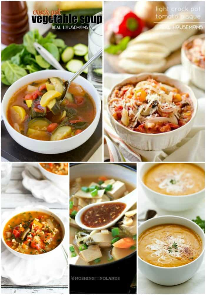 25 Crock Pot Soup Recipes Real Housemoms