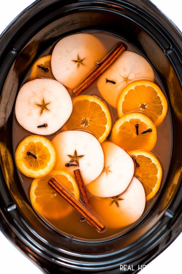 Warm up this fall and winter with a hot cup of Crock Pot Wassail. With your favorite fall flavors of apples, oranges, cinnamon, and nutmeg, this drink is sure to be a staple this season!