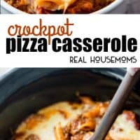 Crock Pot Pizza Casserole is an incredibly delicious meal for the entire family to enjoy! It is really easy to make, kid friendly, and perfect for busy days!