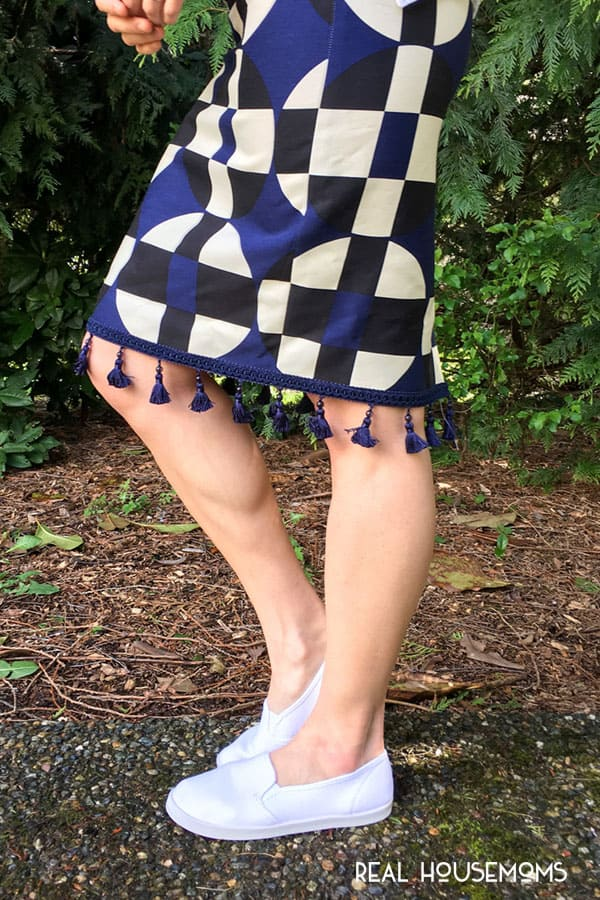 Easy DIY Anthro Inspired Skirt