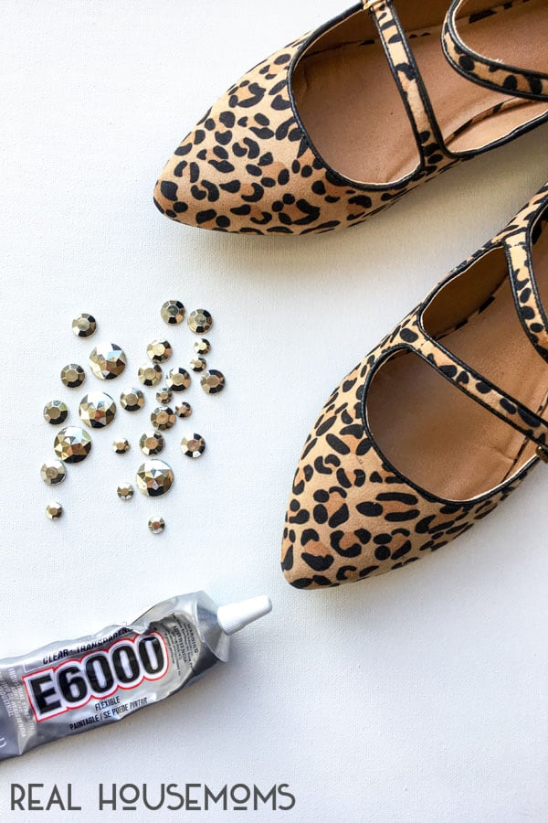 Equipment to make DIY J Crew Embellished Flats