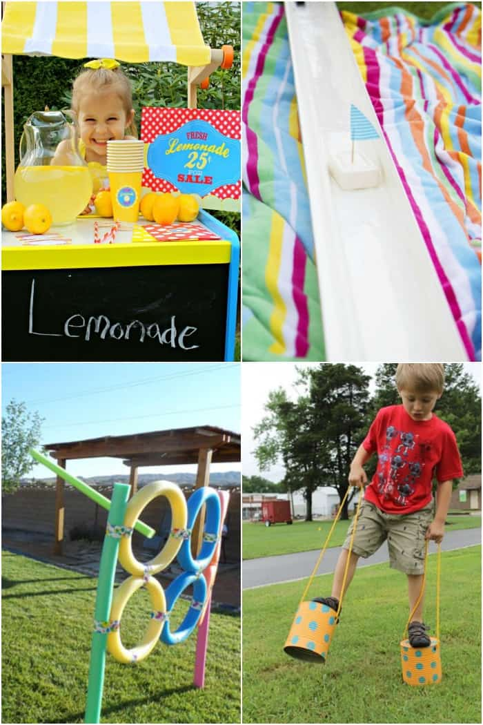 25 Diy Outdoor Activities For Kids Real Housemoms