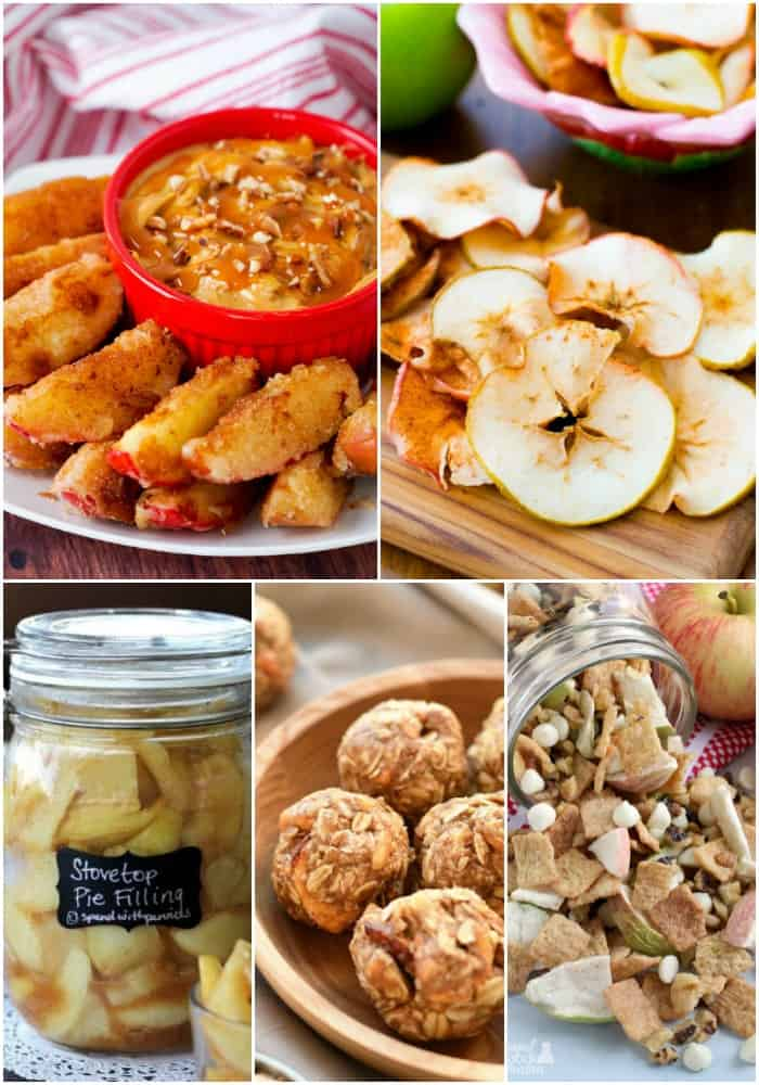apple snack recipes