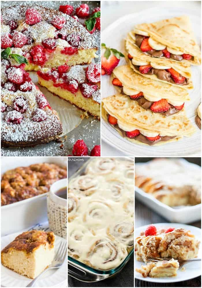 coffee cake and pastry easy brunch recipes