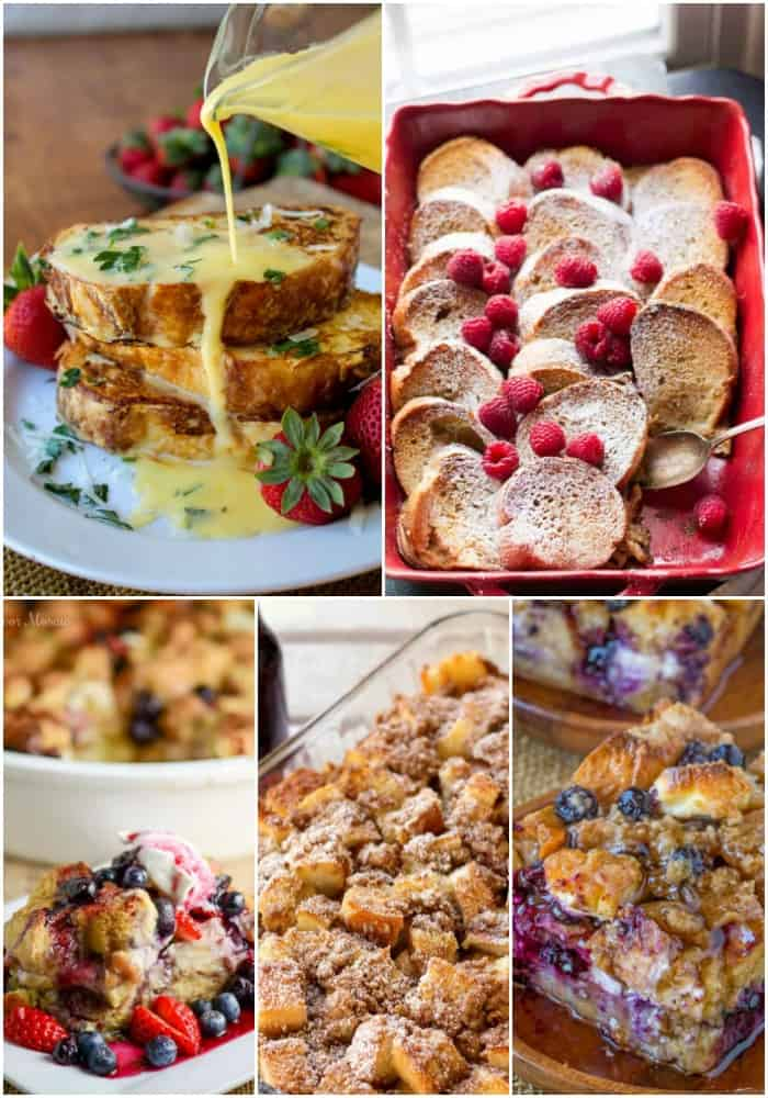 french toast easy brunch recipes