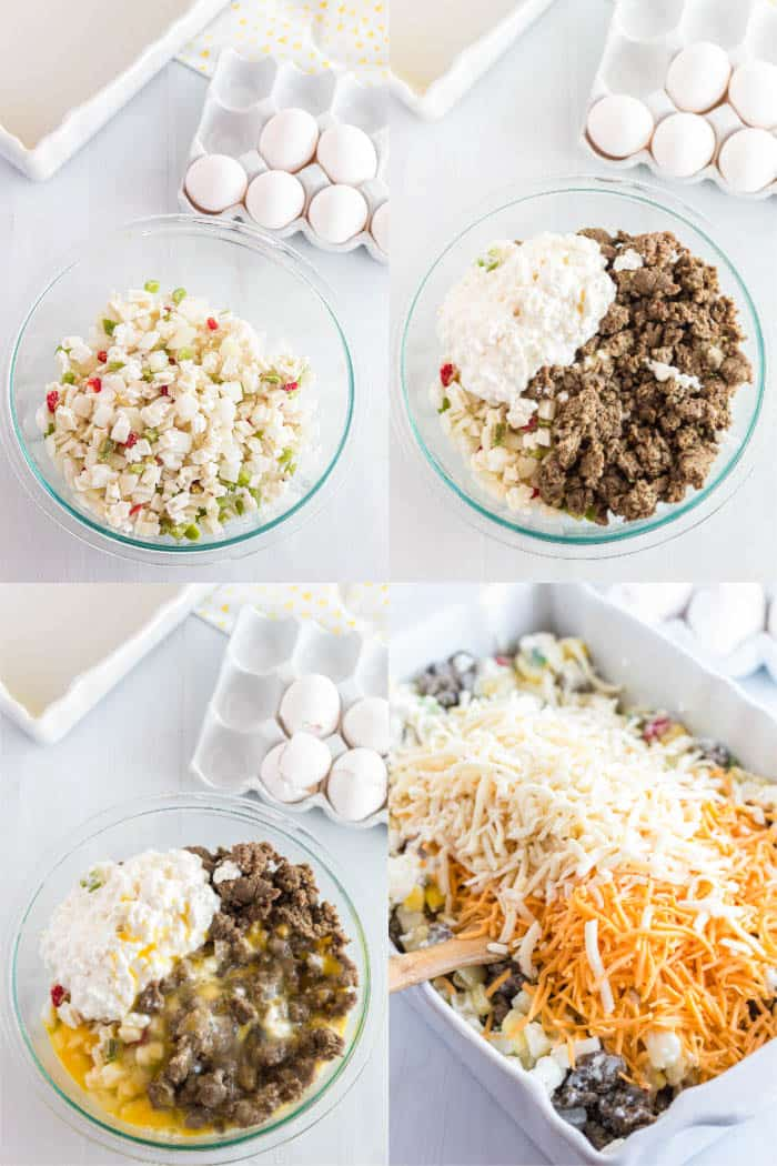 how to make southwest breakfast casserole