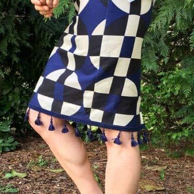 Easy DIY Anthro Inspired Skirt