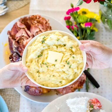 Hosting Easter dinner is a breeze with Sam's Club! This low-prep, budget-friendly holiday meal will leave your family convinced you spent all day in the kitchen!