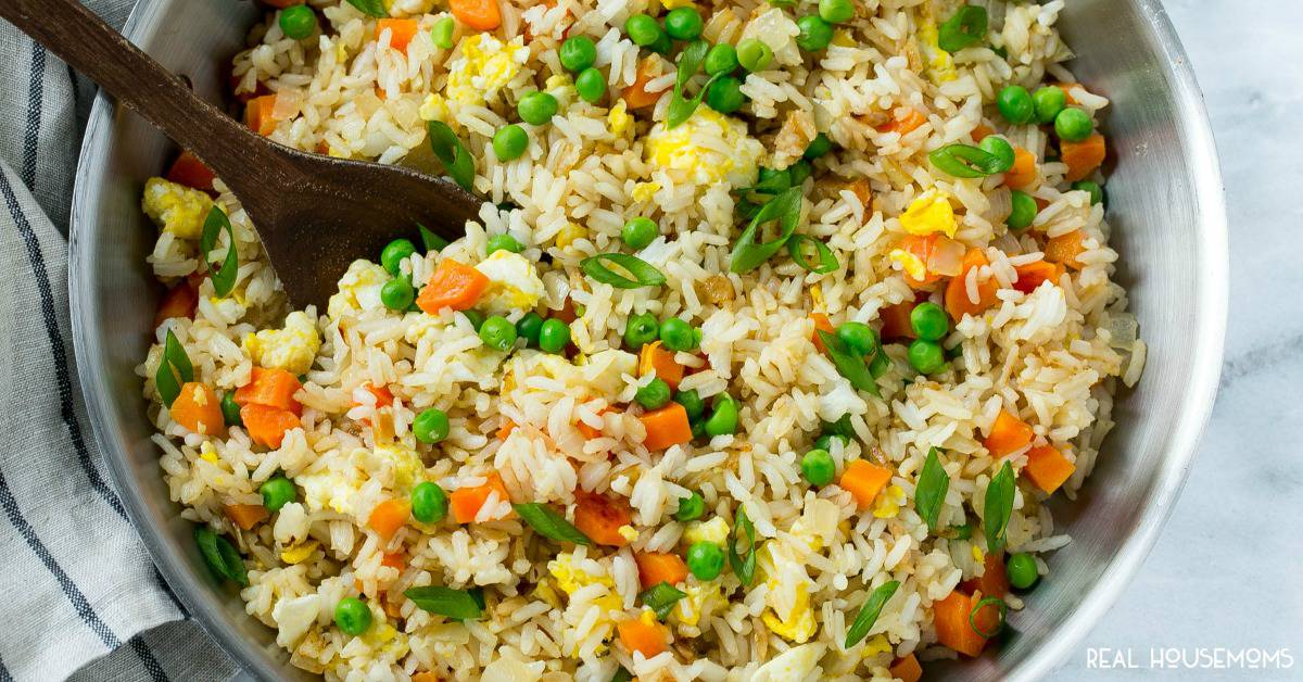 Easy fried rice real housemoms ccuart Images