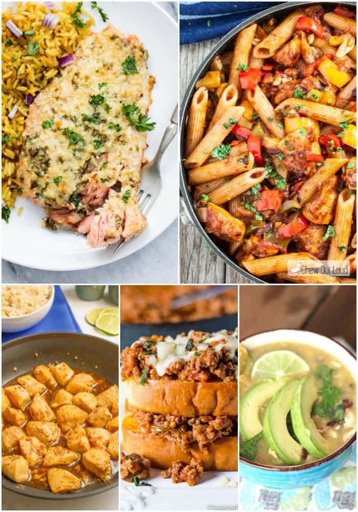 Need to get dinner on the table in a hurry? These 20 minute or less recipes are the answer! Flavorful and easy to make, they'll save the day!