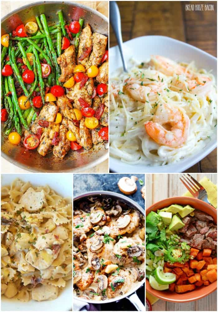 Getting a homecooked meal on the table doesn't have to be hard. These 25 Easy Dinner Recipes for Busy Weeknights are delicious and always a hit with the family!