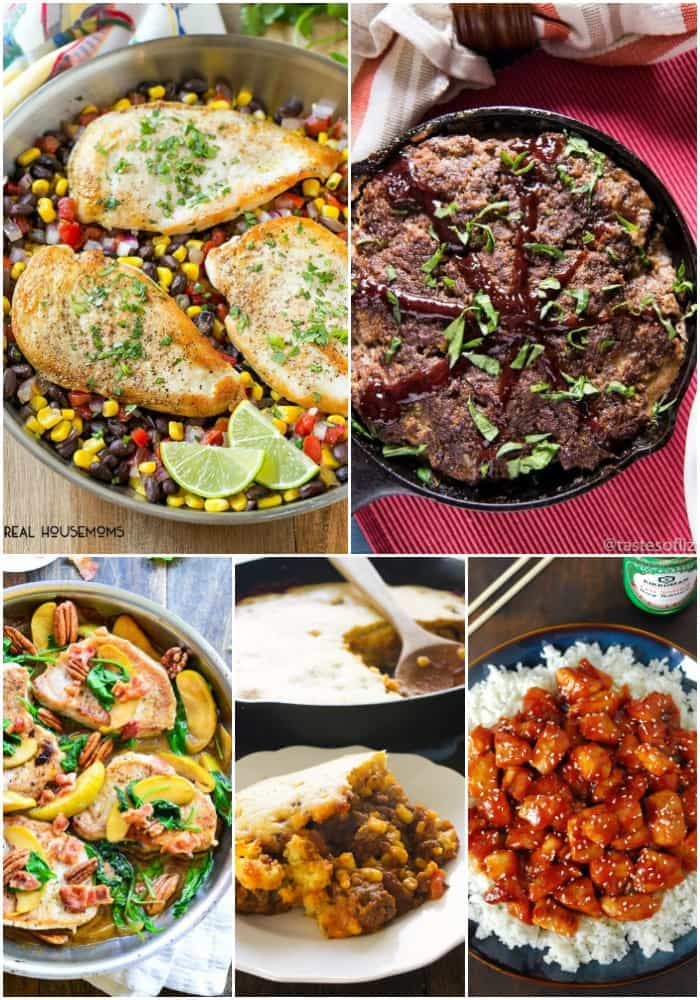 Easy Dinner Recipes For Busy Weeknights Real Housemoms