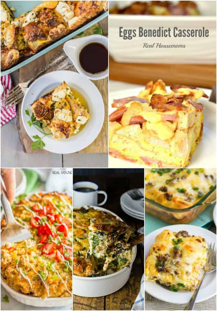 casserole egg recipes for breakfast