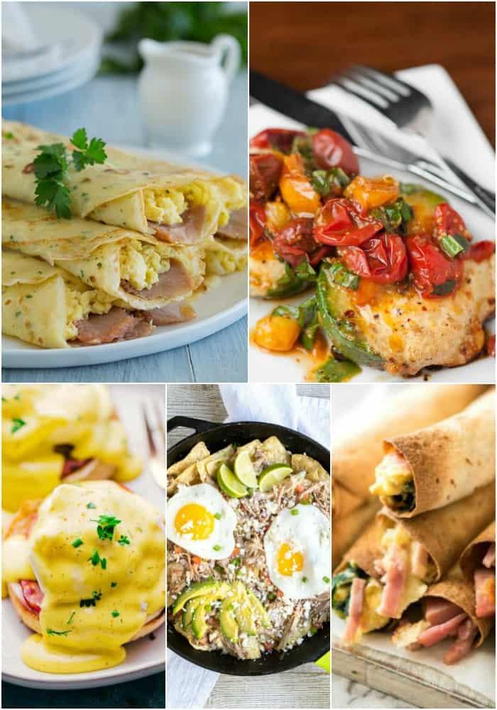 various egg recipes for breakfast