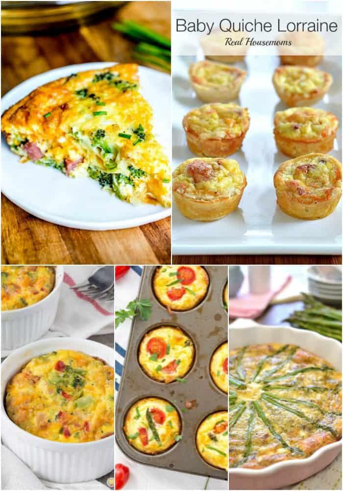 quiche egg recipes for breakfast