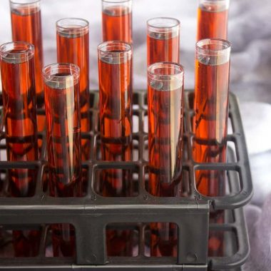 Scare up some fun at your Halloween party with these FORBIDDEN FOREST TEST TUBE SHOTS!
