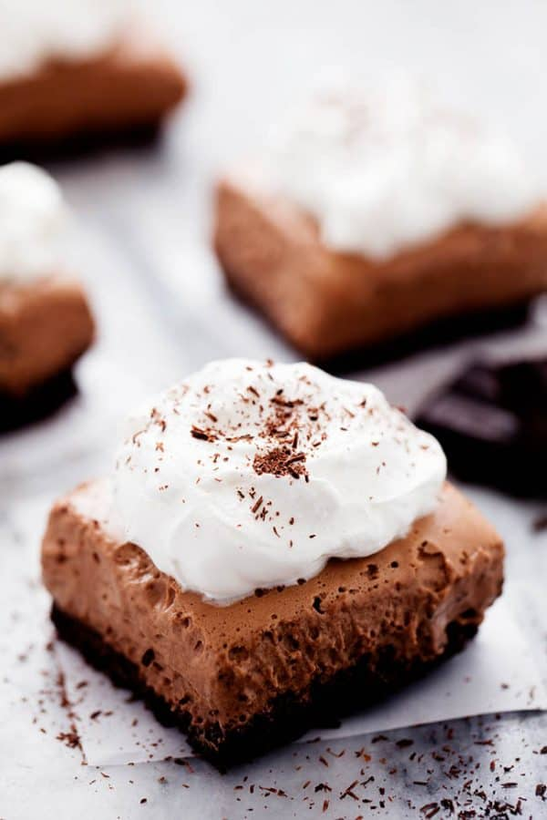 French Silk Pie Bars - The Recipe Critic