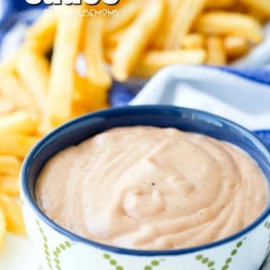 Fry Sauce is the perfect accompaniment to freshly fried spuds, a charbroiled burger, roasted hot dogs or even a French dip sandwich!