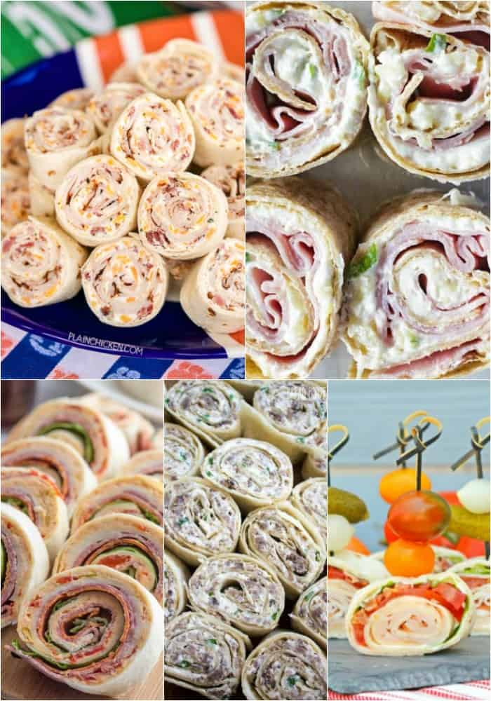meaty roll ups for game day