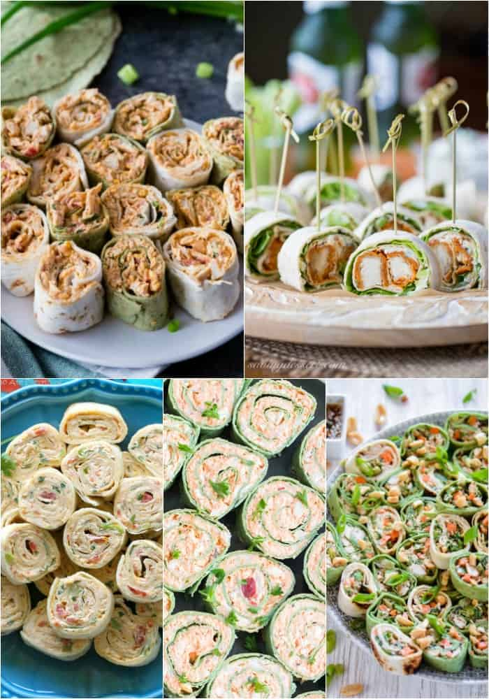 chicken roll ups for game day