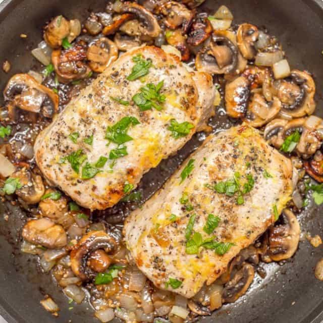 Garlic Butter Pork Chop Recipes Real Housemoms