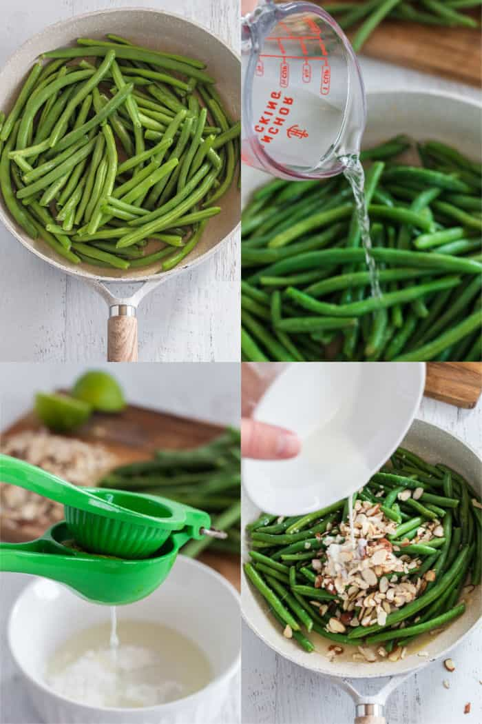 steps to make fresh green beans