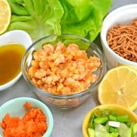 Ginger Shrimp Lettuce Wraps are a 15-minute appetizer or entrée your family is sure to love!