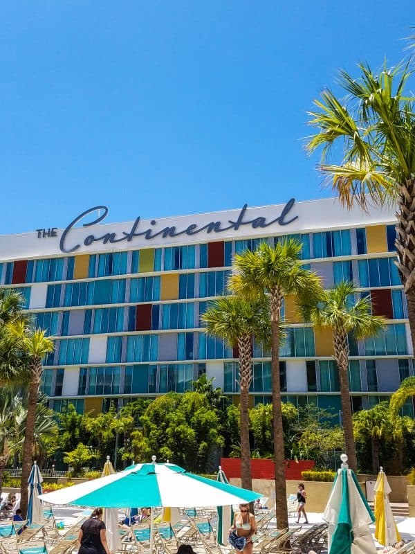 Universal Studios Canana Bay Beach Resort The Continental