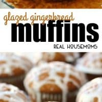 If you love Gingerbread cookies, you're gonna adore these amazing Glazed Gingerbread Muffins!