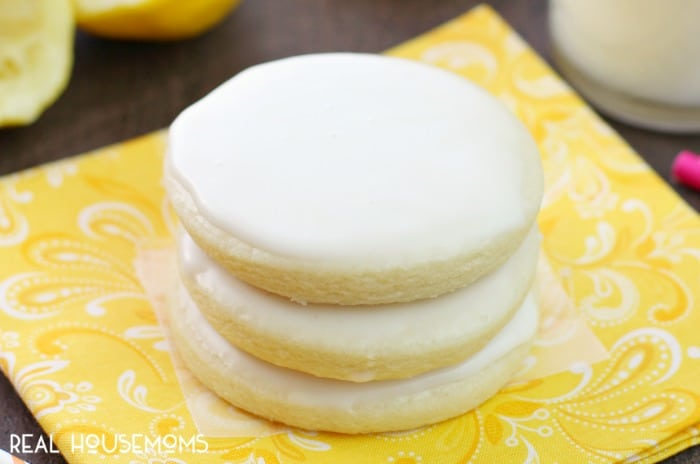 Lemon lovers! These GLAZED LEMON BUTTER COOKIES deliver the perfect citrusy-sweet punch. They're a great cookie choice all year long!