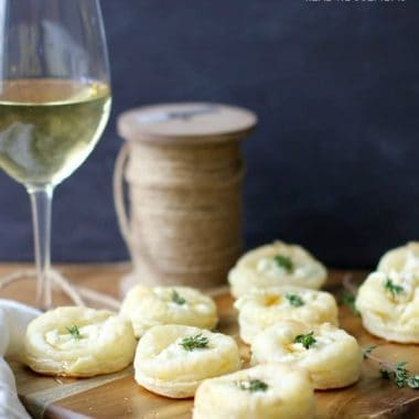 Goat Cheese and Honey Bites