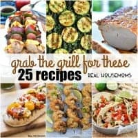 The weather is warming up and that means it's time to GRAB THE GRILL FOR THESE 25 RECIPES! We have everything you need to put together a delicious meal cooked on the grill!