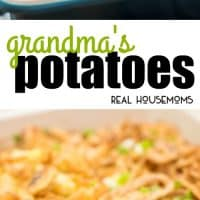 Grandma's Potatoes have the yummiest combination of flavors and are the most amazing potatoes I have ever eaten! They are always a huge hit!