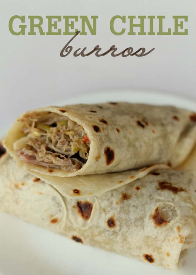 Green Chili Burros - Lil' Luna