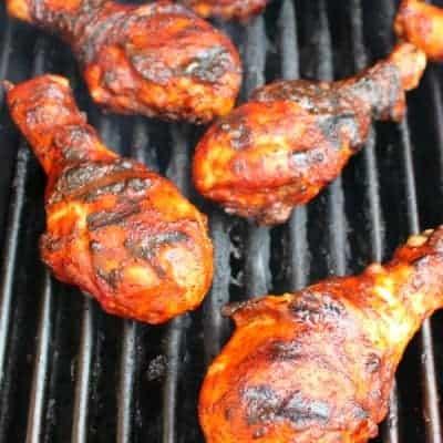 Grilled BBQ Chicken Legs