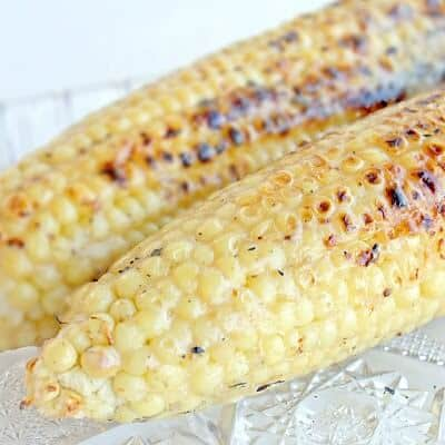 Grilled Coconut Corn - The Girl Who Ate Everything