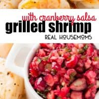 A little bit of heat and a little bit of sweet is perfect in this festive Cranberry Salsa. It makes a great appetizer when paired with Grilled Shrimp. Let the party begin!