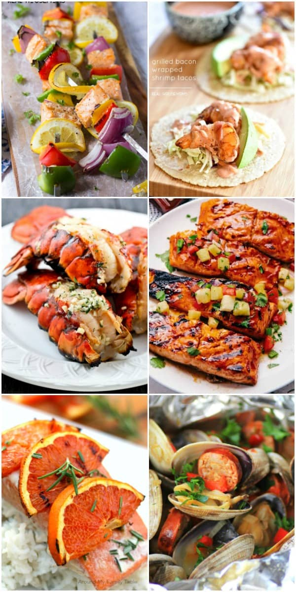 grilled seafood recipes