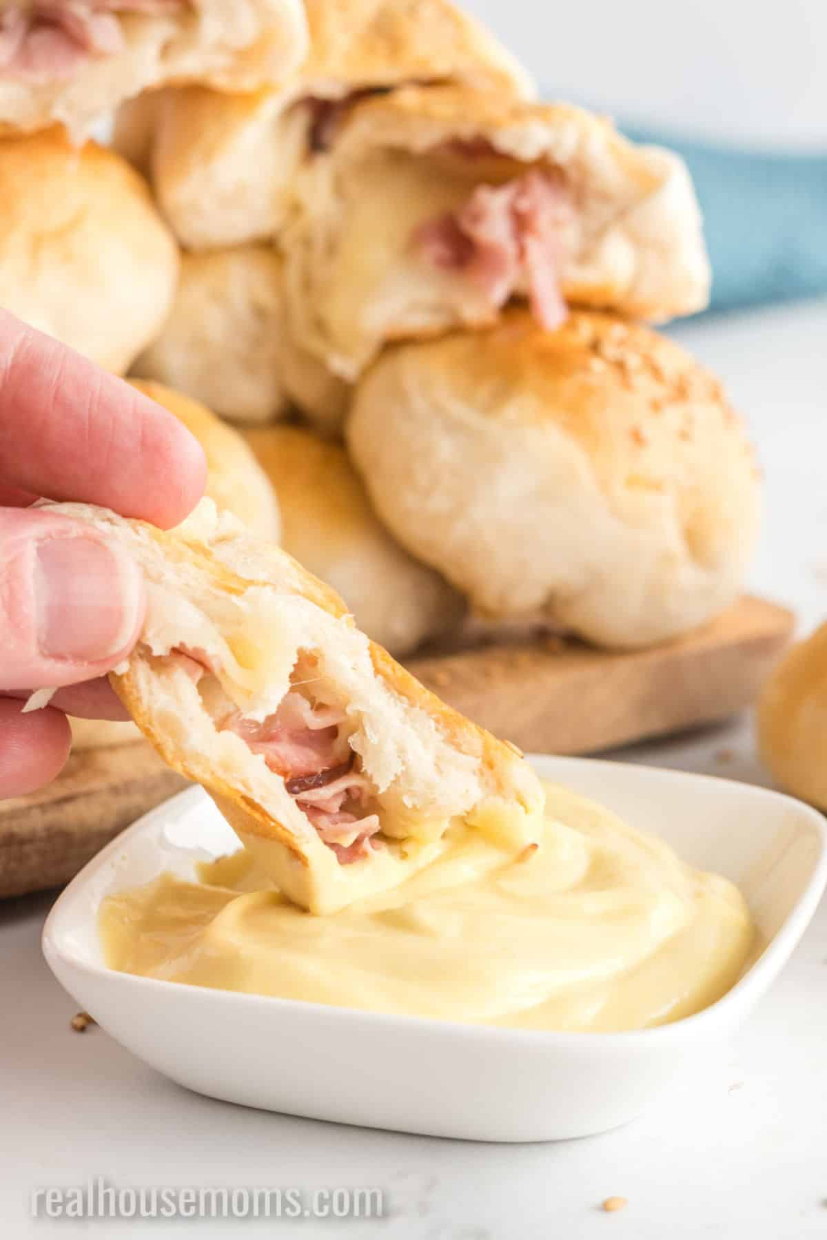 Ham And Cheese Stuffed Biscuits Real Housemoms