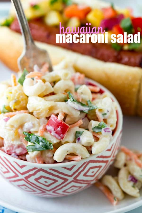 Hawaiian Macaroni Salad - Real Housemoms