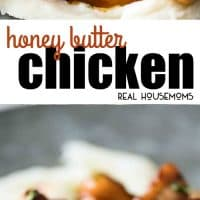 Honey Butter Chicken is EPIC!!! Crazy quick and easy to make, I like making this with bite-size pieces to maximize the surface area that is caramelized in the stunning sauce!