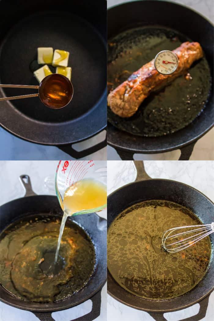 how to make honey butter pork tenderloin