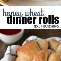 Make half your grains whole grain and enjoy your next meal with a side of the fluffiest Honey Wheat Dinner Rolls!