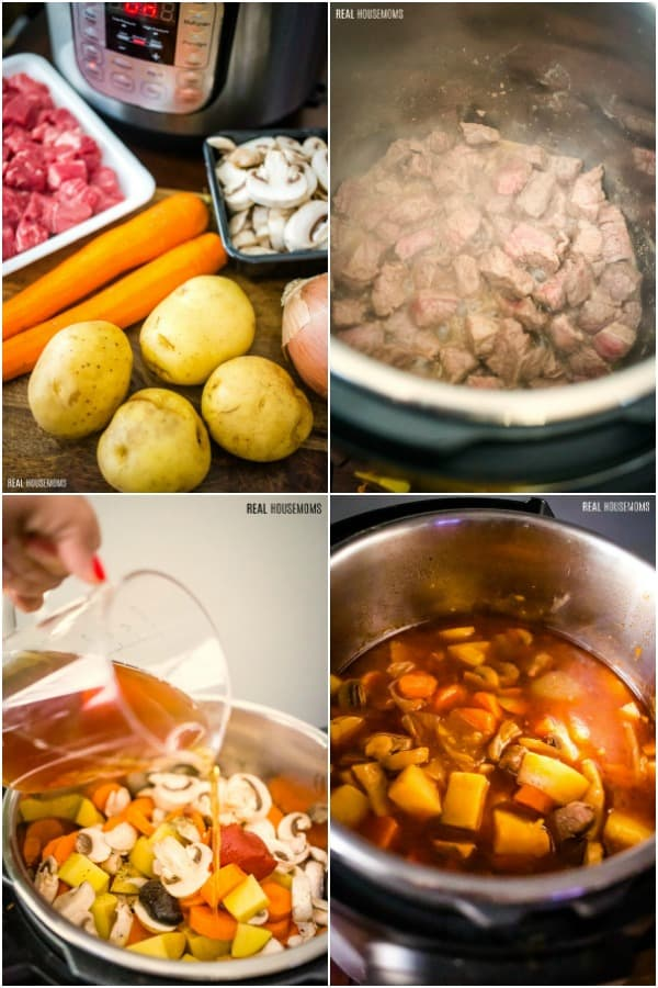 steps to make instant pot beef stew