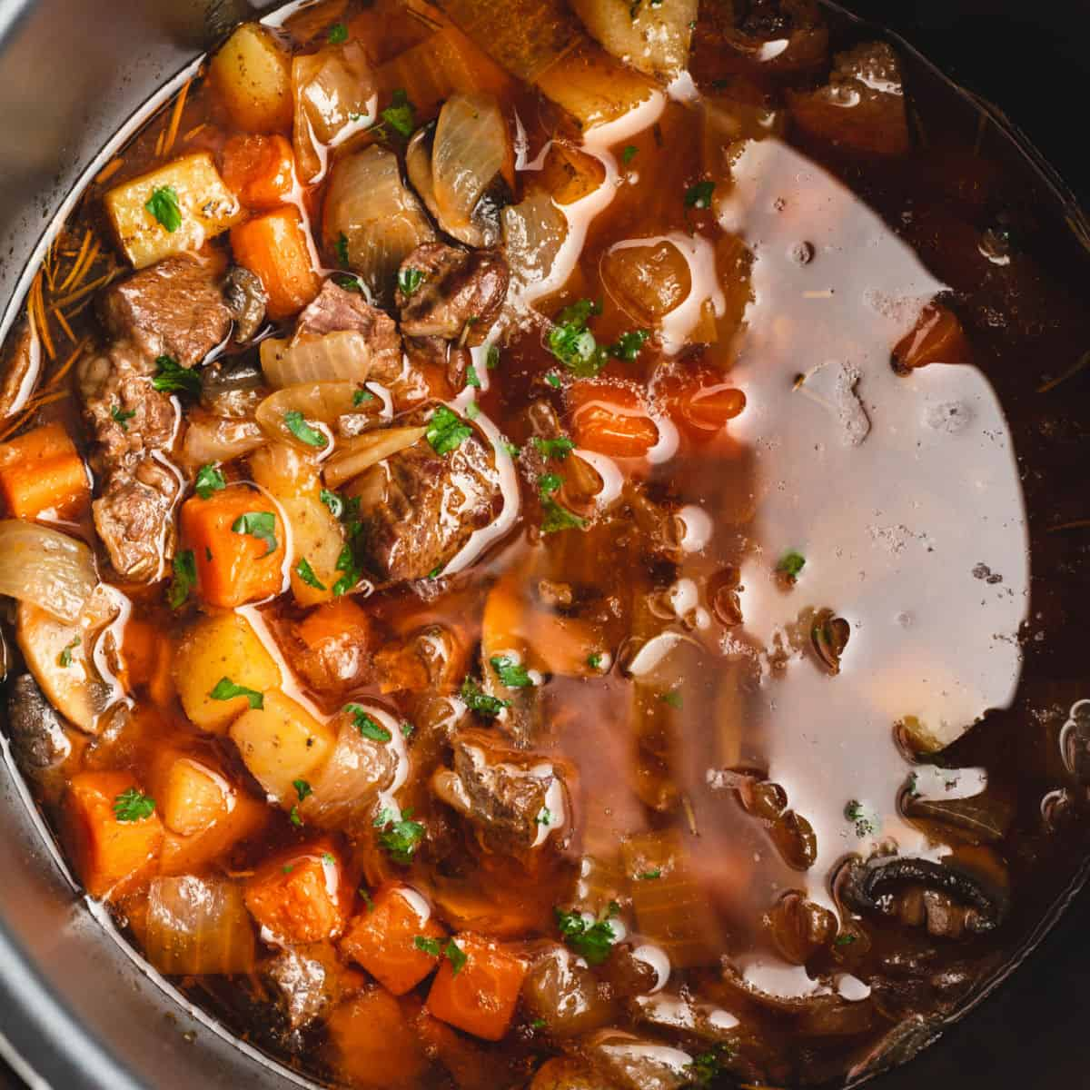 Hearty Instant Pot Beef Stew Real Housemoms