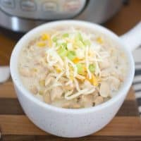 Instant Pot Chicken Chili is an easy weeknight meal that comes together in just minutes! Whether your a pressure cooker pro or just getting started, this chili is fool-proof!