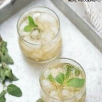 Our IRISH JULEP is a delicious twist on a classic cocktail that's perfect for St. Patrick's Day!